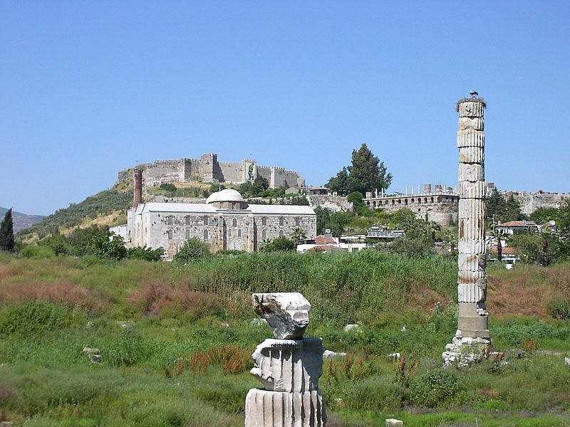 Site of the Temple of Artemis today.